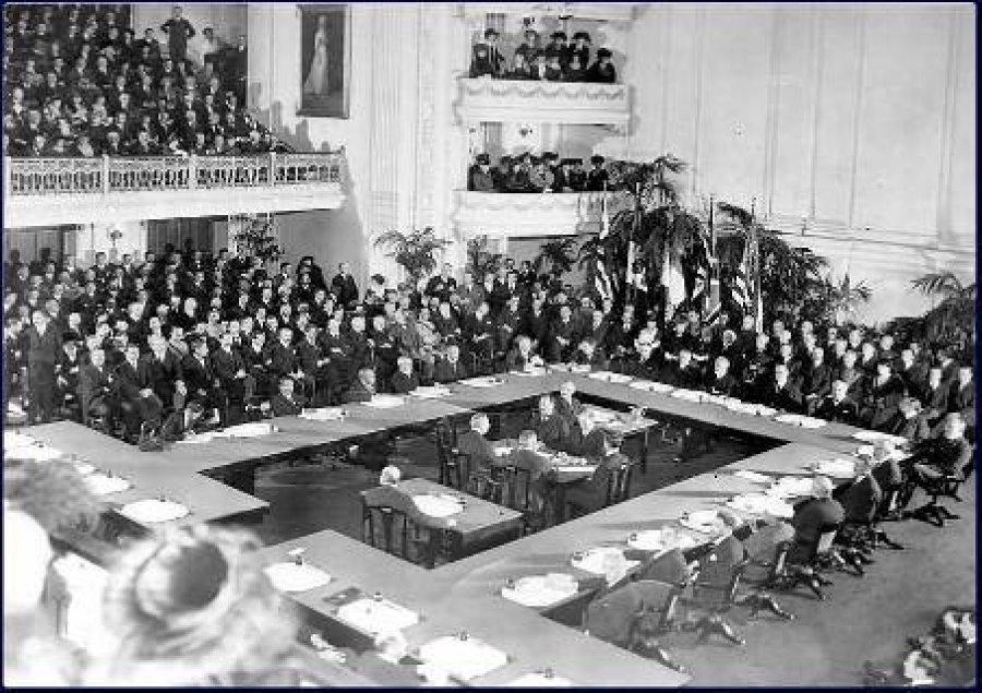 Histori / Më 18 janar 1919, i hapi punimet Konferenca e Paqes në Paris